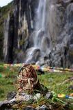 Cascada del acebo Foto de archivo