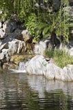 Cascada del agua Imágenes de archivo libres de regalías
