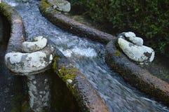 Cascada del agua Foto de archivo
