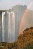 Cascada del arco iris Imagen de archivo libre de regalías