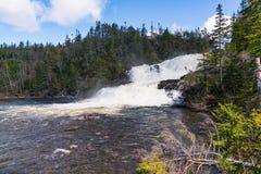 Cascada del arroyo de los panaderos, Terranova fotografía de archivo libre de regalías