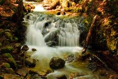 Cascada del barranco de Uvas en primavera Imagen de archivo libre de regalías