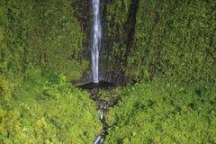 Cascada del barranco de Waimea, Kauai Fotografía de archivo