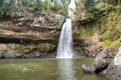 Cascada del Blanca de Cascada cerca de Matagalpa, Nicaragua Foto de archivo libre de regalías