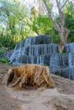 Cascada del bosque en el otoño III Foto de archivo libre de regalías