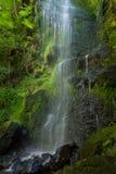 Cascada del canalón de Mallyan Fotografía de archivo