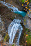 Cascada del Estrecho waterfall in Ordesa valley Pyrenees Spain Stock Image