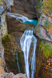Cascada del Estrecho waterfall in Ordesa valley Pyrenees Spain Stock Photography