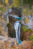 Cascada del Estrecho waterfall in Ordesa valley Pyrenees Spain. Cascada del Estrecho waterfall in Ordesa valley Pyrenees Huesca Spain Arazas river Royalty Free Stock Photos