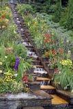 Cascada del jardín Imagen de archivo libre de regalías