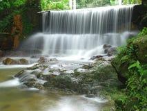 Cascada del jardín botánico en Penang, Malasia Fotos de archivo