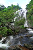Cascada del lan de Khlong en Tailandia Imagen de archivo libre de regalías