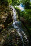 Cascada del monasterio de piedra Foto de archivo libre de regalías