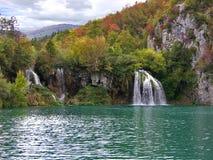 Cascada del otoño Imagenes de archivo