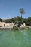 Cascada del parque del Ciudadela, Barcelona Fotos de archivo