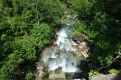 Cascada del río Imagen de archivo libre de regalías
