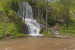 Cascada del río de Bigar, Serbia fotos de archivo