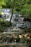 Cascada del velo en el valle de Szalajka Fotografía de archivo