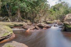 Cascada del vil de Popok Fotografía de archivo