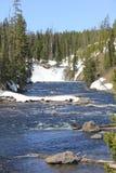 Cascada distante Fotografía de archivo