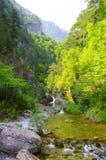 Cascada distante Foto de archivo libre de regalías