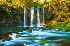 Cascada Duden en Antalya Turquía fotos de archivo libres de regalías