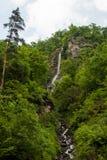 Cascada en Borjomi Foto de archivo libre de regalías