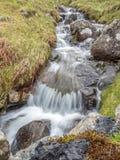 Cascada en campo en Inglaterra Imagen de archivo