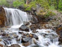 Cascada en Canadá Imagenes de archivo