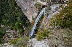 Cascada en Cataluña (España) imagen de archivo