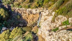 Cascada en Cerdeña, Italia imágenes de archivo libres de regalías