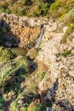 Cascada en Cerdeña, Italia imagen de archivo