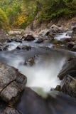 Cascada en el Adirondacks imagenes de archivo