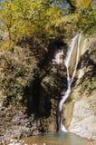 Cascada en el bosque Imagen de archivo libre de regalías