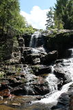 Cascada en el norte del estado Nueva York Fotografía de archivo libre de regalías