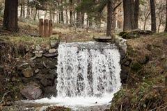 Cascada en el parque nacional de Guadarrama, Segovia españa Imágenes de archivo libres de regalías