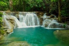 Cascada en el parque nacional Tailandia Fotografía de archivo