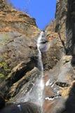 Cascada en el valle de Bhután Imagen de archivo libre de regalías