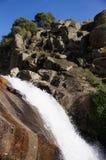 Cascada en Garganta Gualtaminos Zdjęcia Stock