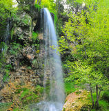 Cascada en Gostilje Foto de archivo libre de regalías