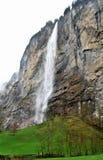 Cascada en Interlaken Imágenes de archivo libres de regalías