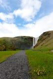 Cascada en Islandia Fotos de archivo