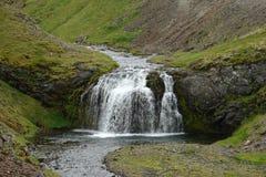 Cascada en Islandia Imagen de archivo