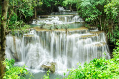 Cascada en Kanchanaburi Foto de archivo libre de regalías