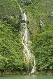 Cascada en la barranca de Sumidero Fotografía de archivo