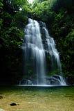 Cascada en la montaña Teñir-HU Imágenes de archivo libres de regalías