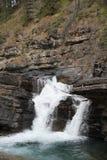 Cascada en las montañas Fotografía de archivo libre de regalías