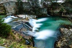 Cascada en mán Gastein Foto de archivo libre de regalías