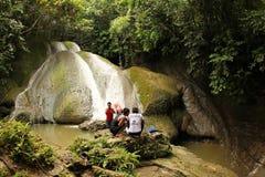 Cascada en Manokwari imagen de archivo