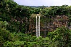 Cascada en Mauricio foto de archivo libre de regalías